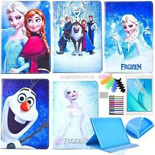 """Cartoon Frozen for Samsung Tablet iPad Mini Pro 9.7"""" Case PU Leather Stand Cover"""