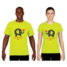 Giftsmate Cute In Love with You Men Women Drifit Couple t-shirts, Love Gifts