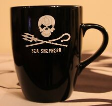 1 Sea Shepherd Marrow Earthenware Mug ,Jolly Roger, Neptune's Navy, Dive