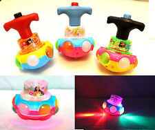 Gift Disney Princess Spinning Top Toy, with Music - Musical Toy For Child
