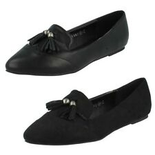 Mujer Spot On Zapatos Informales Planos The Style - f80041
