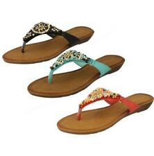 Mujer Savannah Sandalia Toe Post The Style - F0887