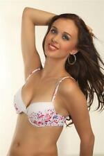 Prestitia Florals Padded Printed Coloured Underwired Bra(1023_Printed)
