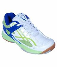PROASE White/Green Badminton Shoes - Exceed Plus 005 Pro