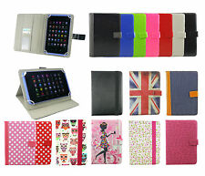 Universal Wallet Case Cover fits Eva Windows Tablet 8 Inch Tablet