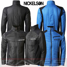 Mens Nickelson Jacket Designer Smart Fleece Lined Quilted Coat Ranger