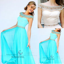 Long Formal Elegant Evening Dresses Prom Party Gowns Fancy Bridesmaid Dresses