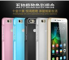 For Huawei Honor 4C Luxury Aluminum Side + Acrylic Back Cover Case