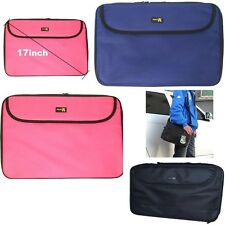 Laptop Carry Case Cover Shoulder Bag With Strap Netbook Notebook Widescreen 17""