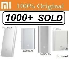 100% Original Xiaomi Mi 5000mAh/10000mAh/10400mAh/16000mAh/20000mAh Power Bank