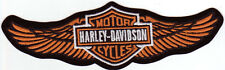 Harley Davidson Aufnäher / Patch Modell Straight Wings Red