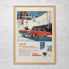 JETSTAR 88 CAR Ad - Retro Olds Car Poster Garage Poster Mechanic Car Wall Art Ca