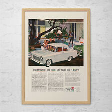 VINTAGE FORD CAR Ad - Classic Car Poster, Classic Ford Poster, Old Retro Car Art