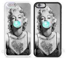 New Marilyn Monroe for Apple iPhone, Case Cover,goth,bubble gum,tattoo,gangsta