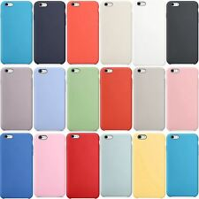Funda Silicone Case para Apple iPhone 6s Plus, 6 Plus (No Original, Calidad A+)