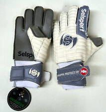 Selsport Wrappa Titanium Goal Keeper Gloves Child Adult 4 10.5 GK Finger Spines
