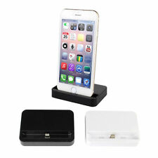 Apple iPhone 5S/5C/6S/6/Plus Charger & Data Dock Station Cradle Stand Holder UK