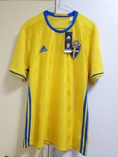 Sweden National Team Football Soccer Home Jersey 16/17, BNWT, EURO 2016
