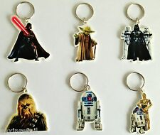 OFFICIAL STAR WARS KEYRINGS - 6 Different Designs! - Rapid Same Day Despatch
