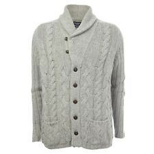 Hackett Chunky Shawl-Neck Cable Knit Cardigan