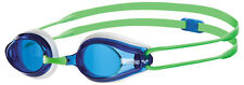 Arena Tracks White Blue Goggles.Arena Training/Racing Goggles.Arena Goggles