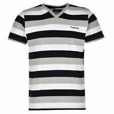 T-Shirt Col V Homme PIERRE CARDIN Taille S Neuf