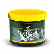 Lincoln Witch Hazel and Arnica Gel for horse or pony 400g Jar