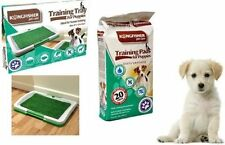 DOG PUPPY PET LITTER TOILET TRAINING TRAY ARTIFICIAL GRASS ODOURLESS POTTY PADS
