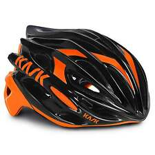 KASK Mojito 16 Road Cycling Helmet - Black/Fluo Orange (2016)