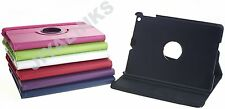 360 DEGREE ROTATING SMART STAND CASE COVER FOR APPLE iPAD AIR 2 PAD 2 3 4 MINI