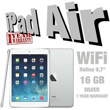 Apple iPad Air 1st Gen ,16 &32&64&128 GB,Wi-Fi, Retina 9.7'',Space Gray & Silver