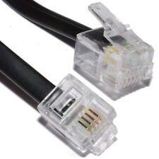 RJ11 to RJ11 Cable ADSL BT Broadband Modem Internet Router Extension RJ-11 Lead