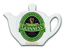 White Tea Bag Holder with St. James Gate Design - Guinness Ireland Collection