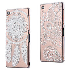 SLIM CLEAR CUSTODIA CASE TPU SILICONE COVER TRASPARENTE DREAMCATCHER SONY XPERIA
