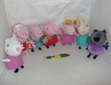 Peluche PEPPA PIG 16cm ORIGINALE Ufficiale TY George Rebecca Suzy PLUSH ORIGINAL