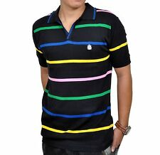Mens Flat Knit Fabric Polo Neck T Shirt by Passive ~Slim Premium~