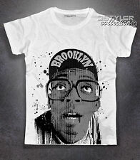 T-shirt homme Spike Lee Neuf York Brooklyn Malcolm X aucun happiness