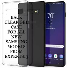 Clear Soft Gel Silicone Case Cover For Samsung Galaxy Model J1 J3 2017 S6 S7edge