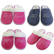 Crystal Baby Shower House slippers personalised Rhinestone home slippers