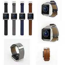 Leather Watch Band Sports Strap For Fitbit Blaze Activity Tracker Smart watch