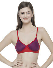 Clovia Cotton Rich T shirt Bra With Cross-Over Moulded Cups (BR0240P15)