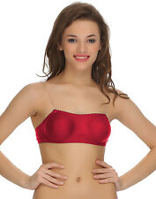 Clovia Cotton Tube Bra With Detachable Transparent Straps (BR0377P13)