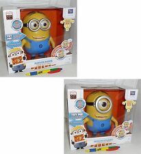 Figura 20cm MINION PARLANTE Cattivissimo Me DESPICABLE Talking MINIONS Mondo NEW