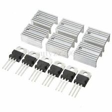 Regolatore di Tensione TO-220 Heatsink Heat Sink Positive Voltage Regulator IC