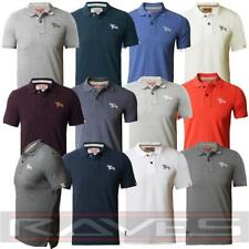 TOKYO LAUNDRY DESIGNER MENS COTTON BUTTON UP CASUAL POLO T-SHIRT TOP 1X7625