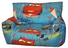 Disney Cars Bean bag sofa Childrens Kids Character Beanbag Sofa's