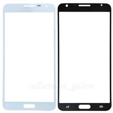 Replacement Front Outer Glass For Samsung Galaxy Note 3 Neo Black / White