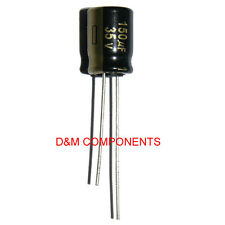 150uF 35V Low ESR Electrolytic Capacitors 105'C Panasonic, Pack of  2,5,10 or 20