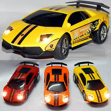 Battery Operated Remote Control RC Toy Car Lighted Car, Gift For Birthday Kids
