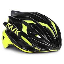 KASK Mojito 16 Road Cycling Helmet - Black/Fluo Yellow (2016)